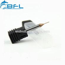 BFL 0,5 mm Schaftfräser, Hartmetall-Mikro 0,5 mm Schaftfräser, Mini-Durchmesser Schaftfräser