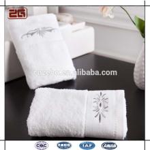 100% algodão 16s suave e boa água absorvente cinco estrelas toalha de banho do hotel