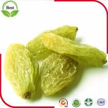 Pasas verdes orgánicas de alta calidad