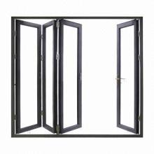 AS2208 glazed interior folding doors, thermal break, double insulation glass/German hardware