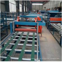 Línea de producción de tablero ignífugo de magnesio