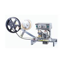 Máquina manual de laminación de cinta adhesiva de tarjeta inteligente