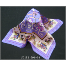 SC152(691) мода дамы шелковый шарф