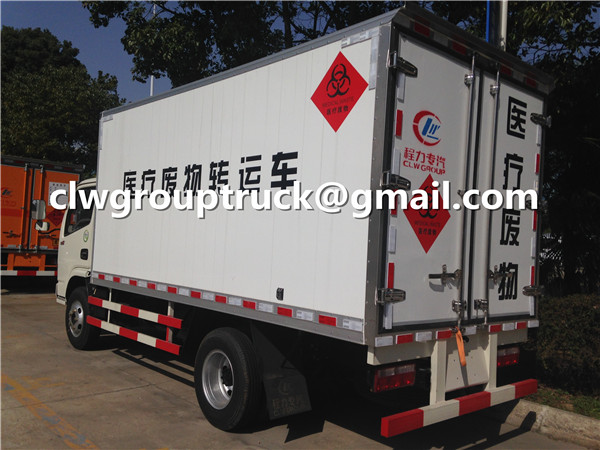 Medical Waste Transfer Truck