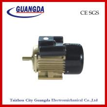 Negro Motor de compresor de aire de CE SGS 1.1kw