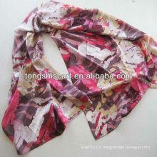 classic printed silk scarf scarf