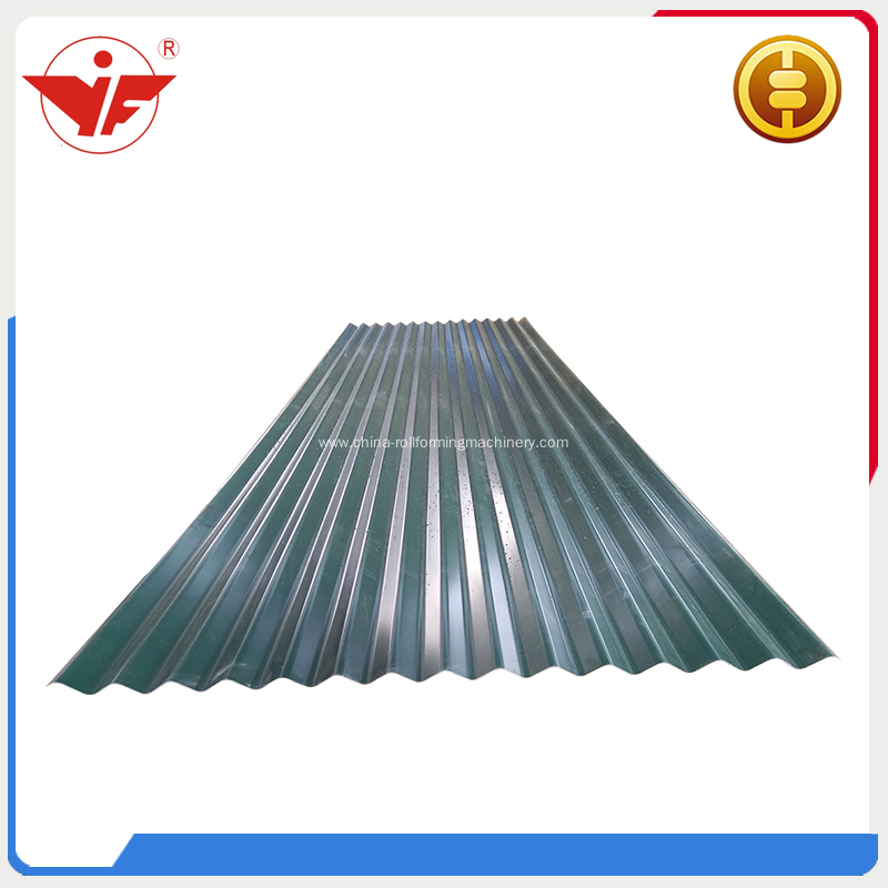 corrugated 0.3-0.8mm roof sheet roll forming machine