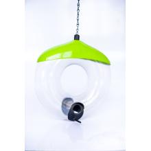Couvercle en acier avec alimentateur pour oiseaux à tube PC (ymb6031)