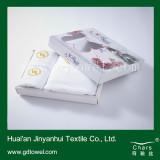 100%Cotton Hotel Bath Towel with Custom Embroidery Logo Design (Y001)
