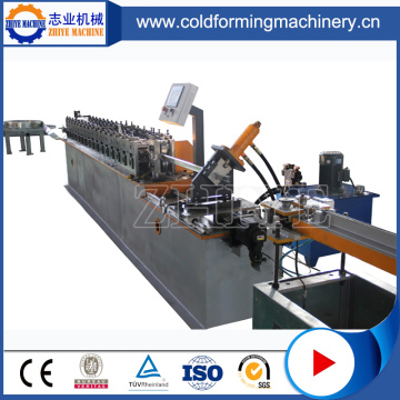 Stud Track Forming Machine With Punching System