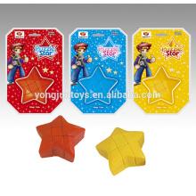 Rompecabezas plástico de cubo mágico cubo de la forma de la estrella de YongJun