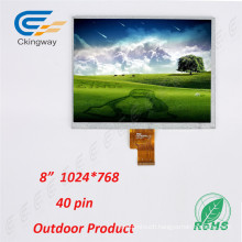 Indoor Outdoor Industry Control System TFT LCM Transpatent LCD Display