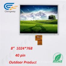 Sistema de controle da indústria ao ar livre ao ar livre TFT LCM Transpatent LCD Display