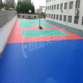 Outdoor Interlocking PP Tennis Court Tile Floor