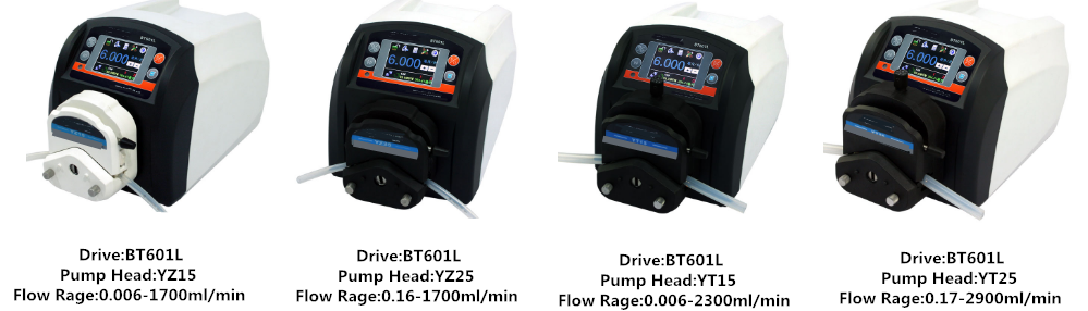 high flow rate peristaltic pump