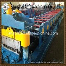 Máquina formadora de rolos de painel de telhado com travamento automático (AF-R360)
