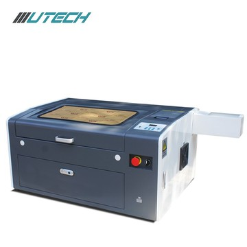 Gravador de vidro de madeira acrílico do laser do couro do co2 3050
