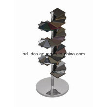 Unique Metal Display for Tile Display Wtih Helical Shape