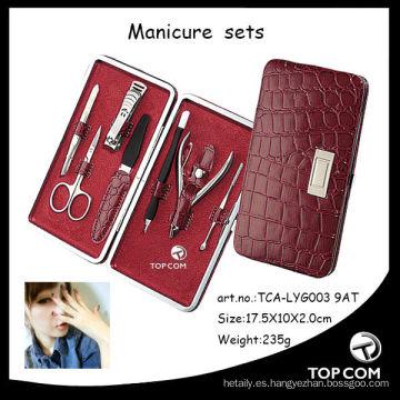 Kit de cuidado de uñas calidad Alemania, herramienta de uñas calidad Alemania, juego de manicura para farmacia