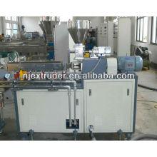 laboratory plastic granule extruder
