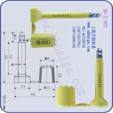 Selo de segurança de contêiner BG-Z-007, fechadura de porta
