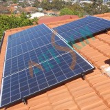 Solar Energy Tile Roof Mounting System