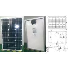 Monokristallines Solarmodul PV-Modul 18V 60W mit Ce genehmigt