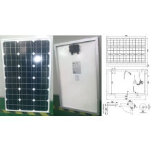 18V 60W Monocrystalline Solar Panel PV Module with Ce Approved