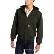 Denim Jacket , Mens Jackets / Jacket With Mesh-lined Hoods