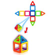 Cadeau de Noël-XLarge chitec des blocs de construction magnétiques série bâton magnétique