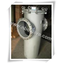 """Filtro de cesta única de aço inoxidável de malha 100 (SBS-4 """")"""