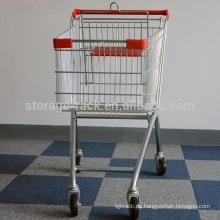 Supermarkt Faltende Einkaufswagen
