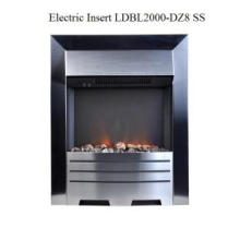 Indoor Dz8 Ss Electric Insert Fireplace