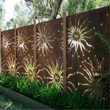 Laser Cut Metal Screen With Customized Pattern