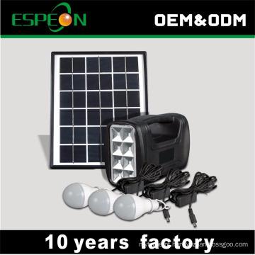 5w fora do sistema das luzes da energia solar da grade que vende o melhor em África