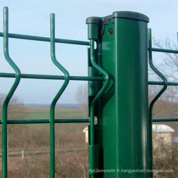 Chine Panneau de clôture de fil enduit de PVC en gros (PWFP)