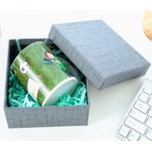 Caja de regalo de papel de embalaje de copa de lujo