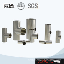 Stainless Steel Joneng Sanitary Grade Tee Pipe Fitting (JN-FT1006)