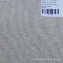 Pure Leinen Sofa Stoff HL-0008