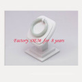 White Vertical PU Bangle Jewelry Display Stand (BT-G2-WL)