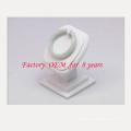 Белый вертикальный PU Браслет Дисплей ювелирных стенд (БТ-Г2-ДС)