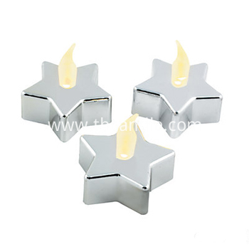 battery operated LED tealight candle