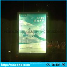 Caja de luz delgada del marco del cartel del LED del fabricante de China