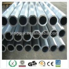 7075 aluminium profile anodized extrusion octagon tubes china supplier