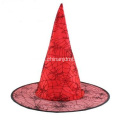 Red grenadine witch hat