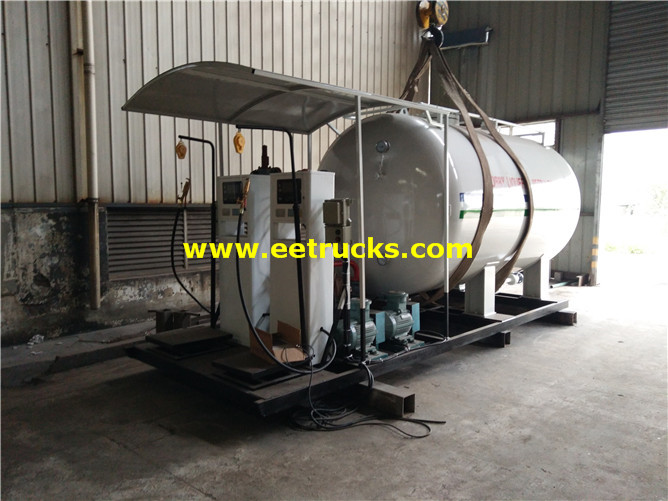 Mobile Cooking Gas Skid Plants