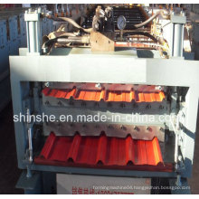 Twp Different Prfiles Roll Forming Machine