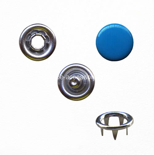 Pulsante Prong Snap con Royal Blue Cap