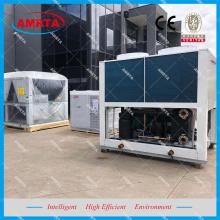 Luftgekühlter Schraubenwasserkühler und Wärmepumpe