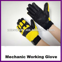 Synthetic Leather Cut Resistant Mechanic Glove ZMR364